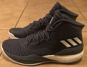 best service 9a99f 24870 Image is loading ADIDAS-D-ROSE-8-SIZE-12-5-GREY-