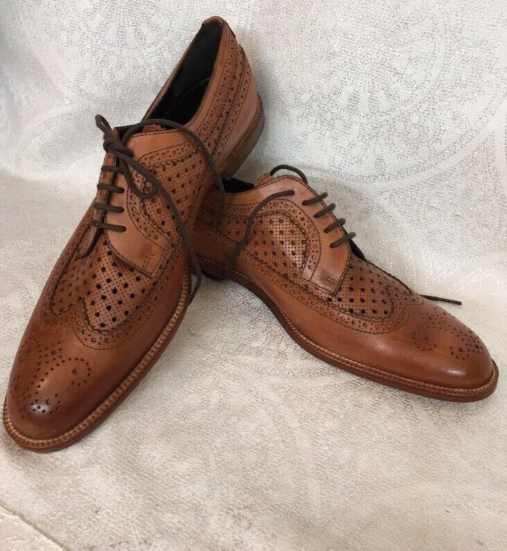 confortevole Manolo Blahnik scarpe Marrone Marrone Marrone Leather Oxfords Lace UpDimensione 40 New  prezzi più bassi