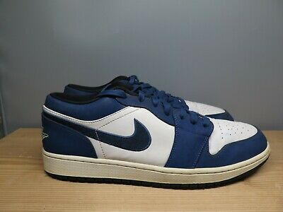 2015 Nike Air Jordan 1 Retro Low Insignia Blue Size 12 (553558-405) | eBay