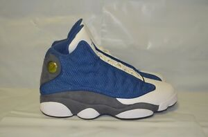dece22a660c9 Nike Air Jordan 13 XIII Retro French Blue University Blue Flint Grey ...