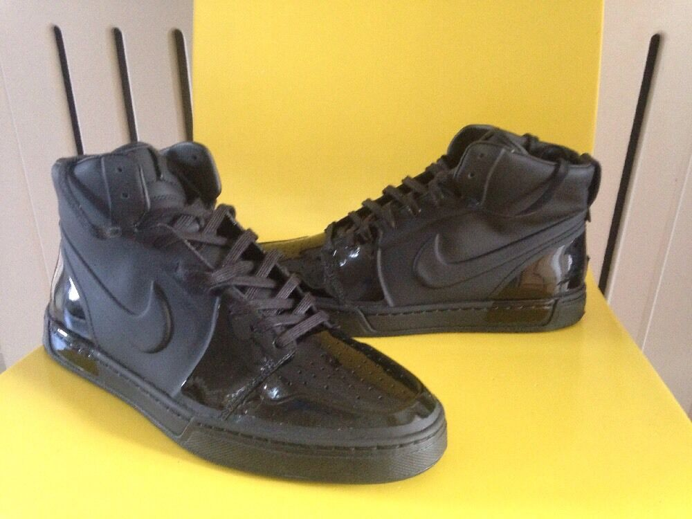 Nike Air, Royal Black Trainers, Size 8