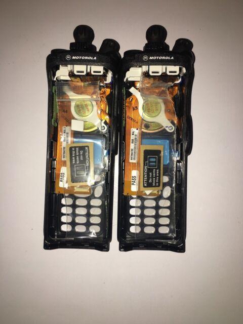 TWO pcs  XTS5000 Model 3  Black Ruggedized Housing NNTN6467