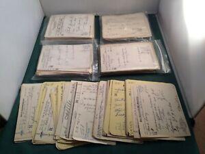 25-Vintage-Prescriptions-1940-039-s-RX-Lot-Virginia-Doctors-Ephemera-P1803