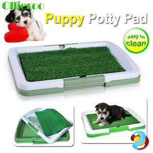 Ollieroo Large 3Layer Puppy Dog Pet Trainer Indoor Grass Training Patch Pad New