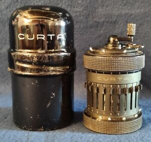 EARLY CURTA CALCULATOR TYPE II 1953/54 SERIAL 501861. REALLY RARE!!