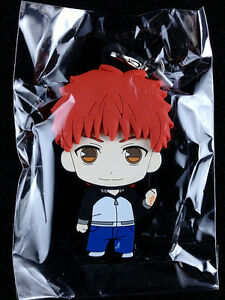 Details about Fate/stay night UBW Picktam! Rubber Strap Key Chain GSC Shiro  Shirou Emiya New