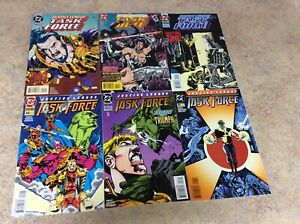 JUSTICE-LEAGUE-TASK-FORCE-19-20-21-22-23-25-LOT-OF-6-COMIC-NM-1995-DC