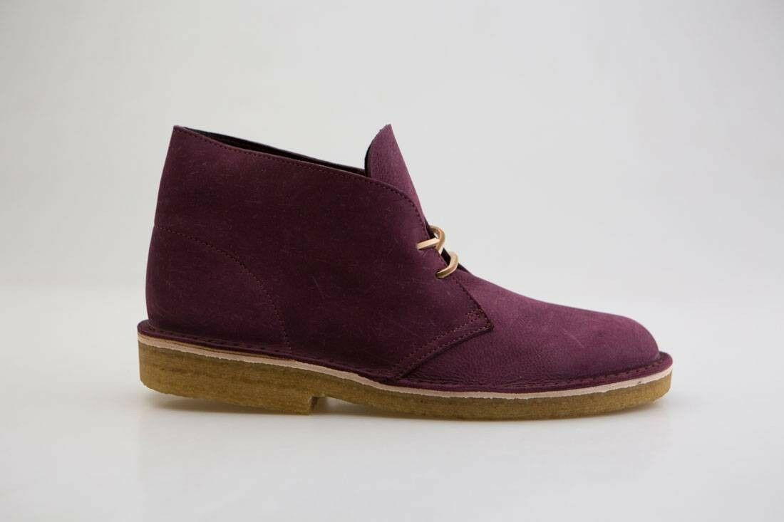 239.99 Clarks Men Desert Boot Premium purple grape nubuck 26129941