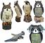 Decoy Falcon /& Vent Action Hibou épouvantail Jardin Animal Crow dissuader Répulsif NEUF