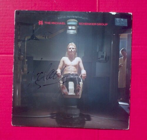 """Michael Schenker"" (MS Group!) signed album (entitled same!) signed in black!!!"