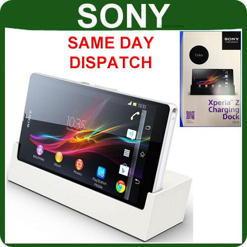 New Genuine SONY EXPERIA Z C6603 Mobile DESKTOP CHARGER original cell phone dock
