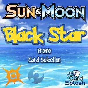 Pokemon TCG Sun & Moon Black Star Promo Card Singles Selection S&M