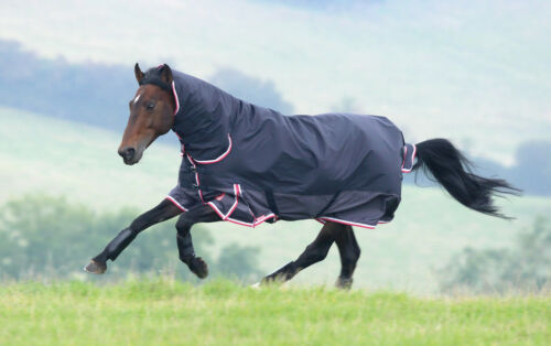 4ft Shires Highlander Original 200g medium weight Combo turnout rug 4'0""