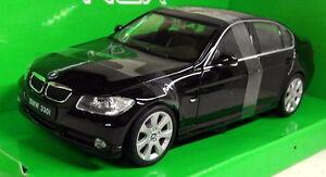 Nex-models-1-24-Scale-22465W-BMW-330i-Saloon-Black-Diecast-model-car