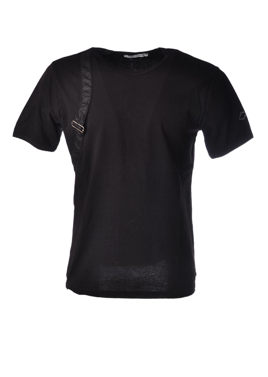 Daniele Alessandrini - Topwear-T-shirts - Mann - black - 5045210H184448