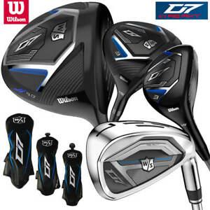 Wilson-Staff-D7-Men-039-s-Golf-Package-Set-Driver-3W-4H-5-SW-NEW-2020