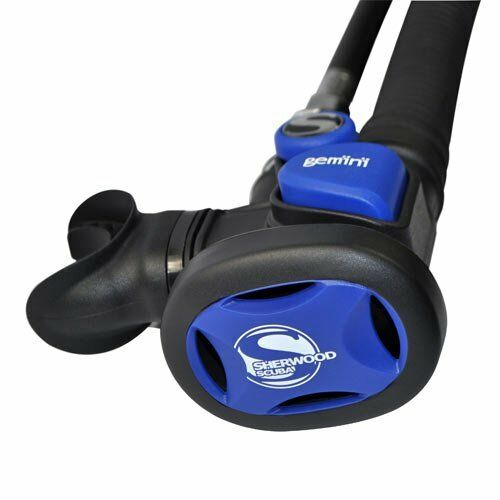 Sherwood Gemini Octo Scuba Diving Regulator Dive bluee