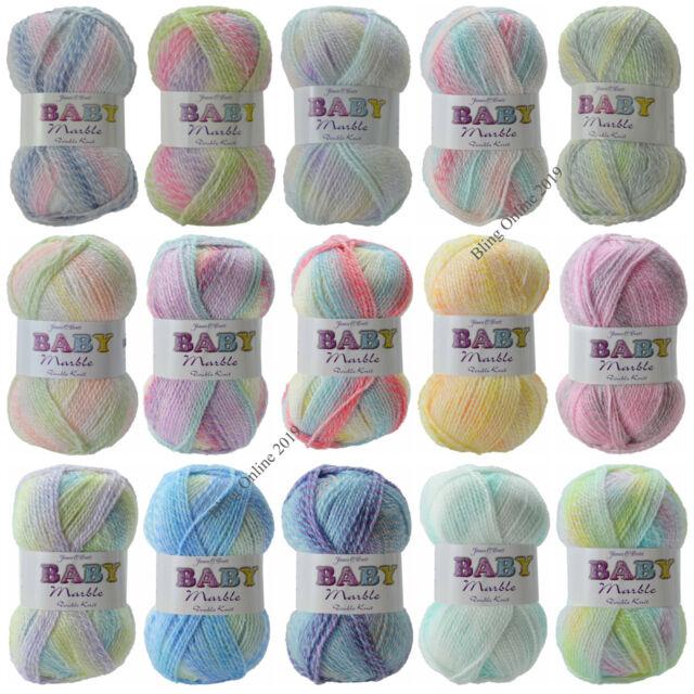 Sale Last Few Only £2.20 Sale James C Brett MARBLE Yarn 100g Knitting Wool