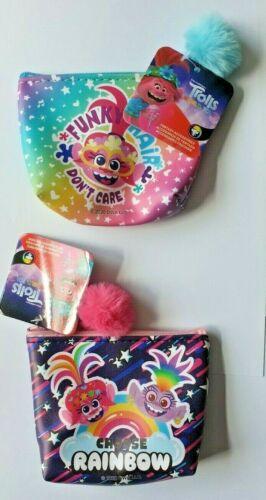 Trolls amapola carácter Monedero poste libre, Mini Accessorise bolsa de cosméticos