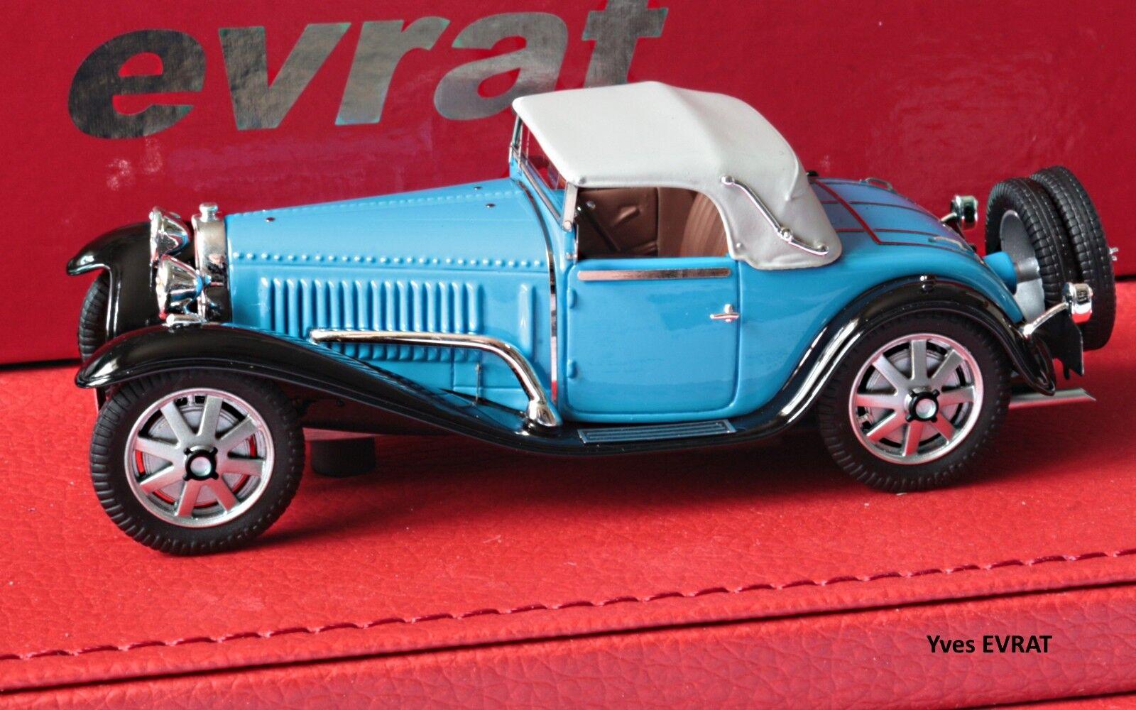BUGATTI T55 cabriolet Billeter & Cartier  55206 1/43 EVRAT limit. 60 ex