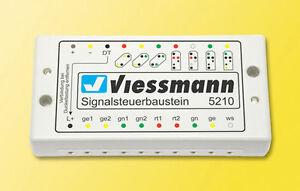 Viessmann 5210 Module De Commande Signal Pour Lumineux #neuf Emballage Scellé#