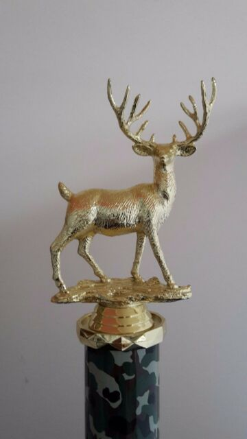 "Buck Deer Trophy 13/"" tall award Free Engraving"