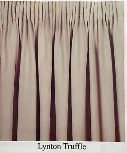 Laura Ashley Pencil Pleat Readymade Curtains 100% cotton And Lined