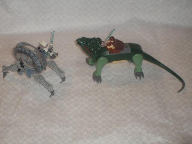 LEGO 7255 STAR WARS GENERAL GRIEVOUS CHASE 2 BOGA LIZARD OBI WAN MINIFIG NICE