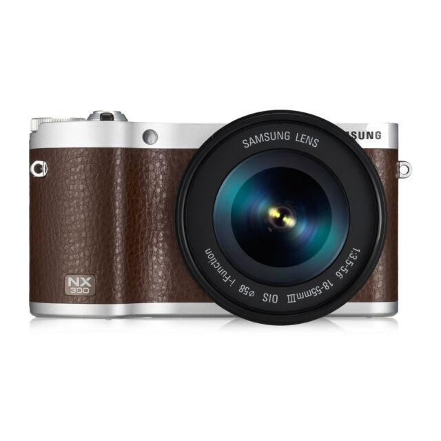 Samsung NX NX300 20.3 MP Digital Camera - Black (Kit w/ 18-55mm Lens)