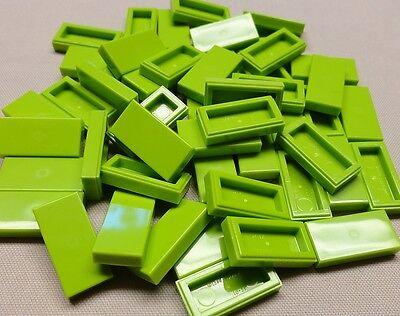 x50 NEW Lego Tiles Yellow Smooth Finishing Tile 1x3 1 x 3 MODULAR BUILDINGS