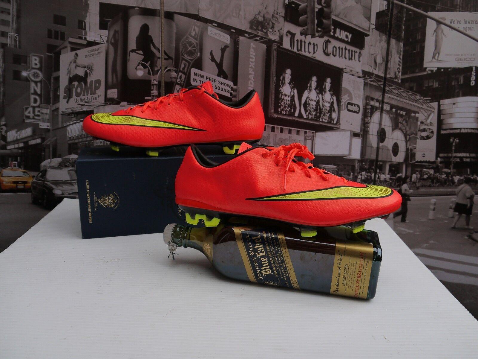 Nike Mercurial Veloce II FG SOCCER CLEATS Men's US 7.5  /