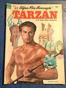 DELL-COMICS-TARZAN-53-February-1954
