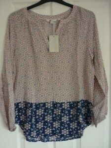 BODEN-MAYA-TOP-in-PINK-FROSTING-DOTTY-FLORAL-UK-10-EUR-36-38-US-6-W0008-BNWT