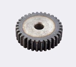 45# Steel Motor Spur Pinion Gear 2Mod 12T Outer Dia 28mm Thickness 20mm x1Pcs