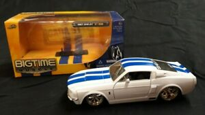 1967-Ford-Mustang-Shelby-GT500-Diecast-Auto-1-32-Jada-Muscle-Car-con-scatola-RARA