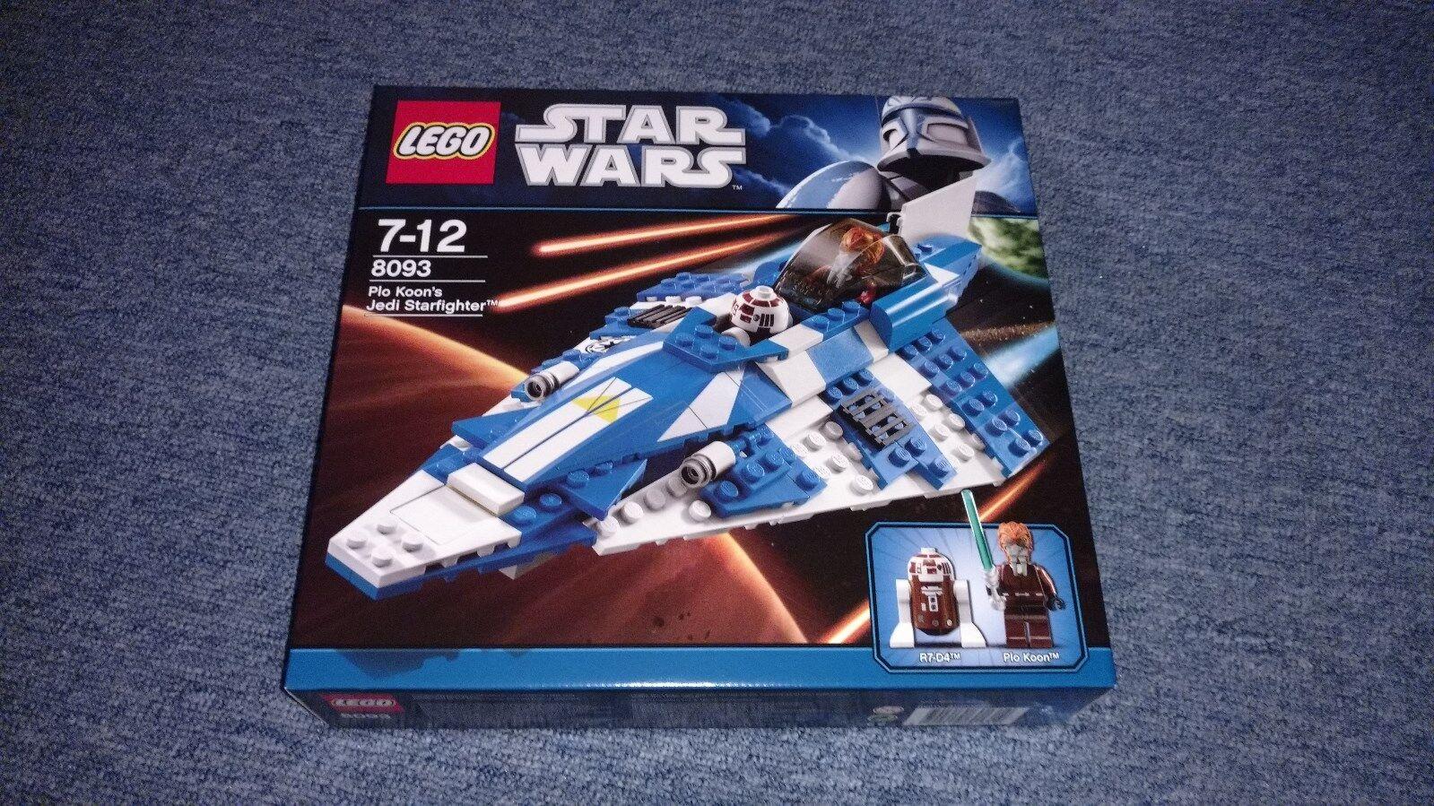 LEGO® Star Wars™ 8093 - Plo Koon's Jedi Starfighter™ - Neu&OVP (MISB)