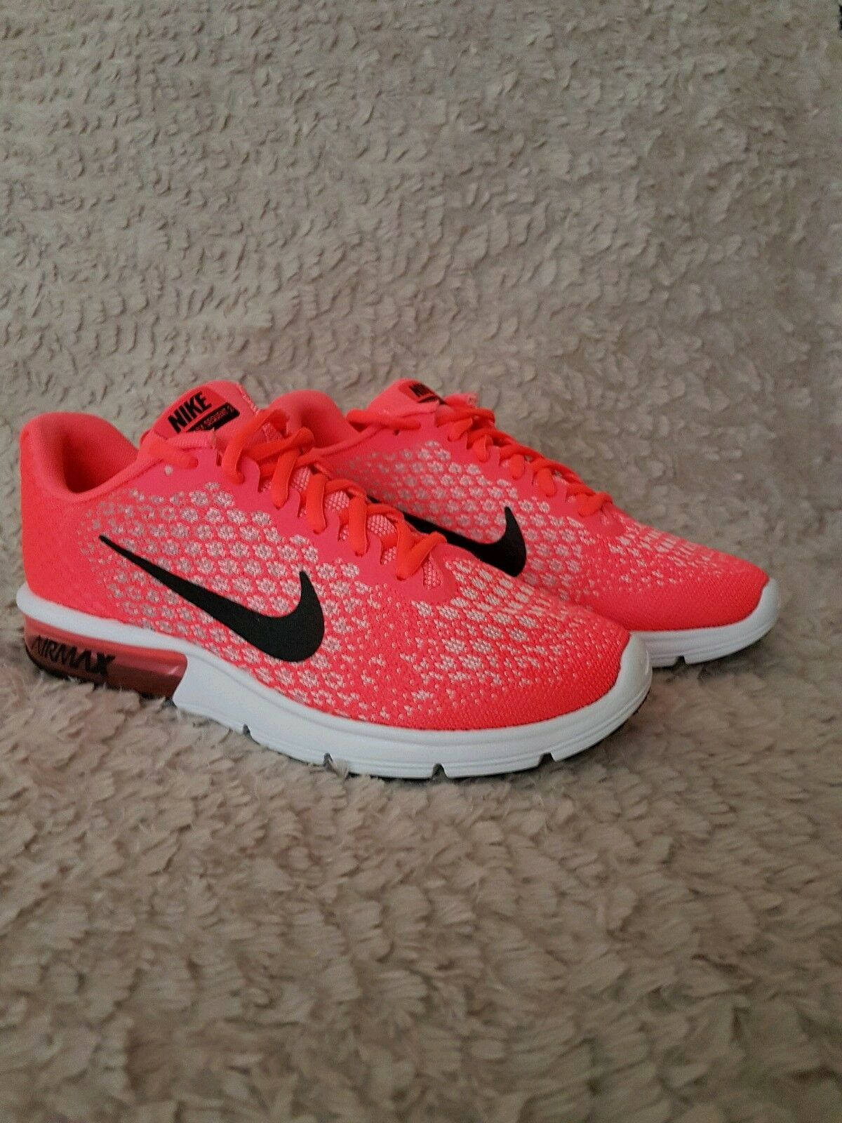 nike air max entraînent la taille flambant neuf coral formateurs coral neuf rose 2a03fb