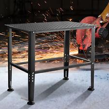 Vevor Adjustable Workbench Steel Frame Garage Work Table 36 X 24 Table Top