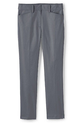 Lands/' End NWT Women/'s Plus Size Mid Rise Chino Pants Blue MSRP $69.95