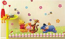 Wandtattoo Winnie Pooh XL Wandsticker Wandaufkleber Kinderzimmer Disney wp992