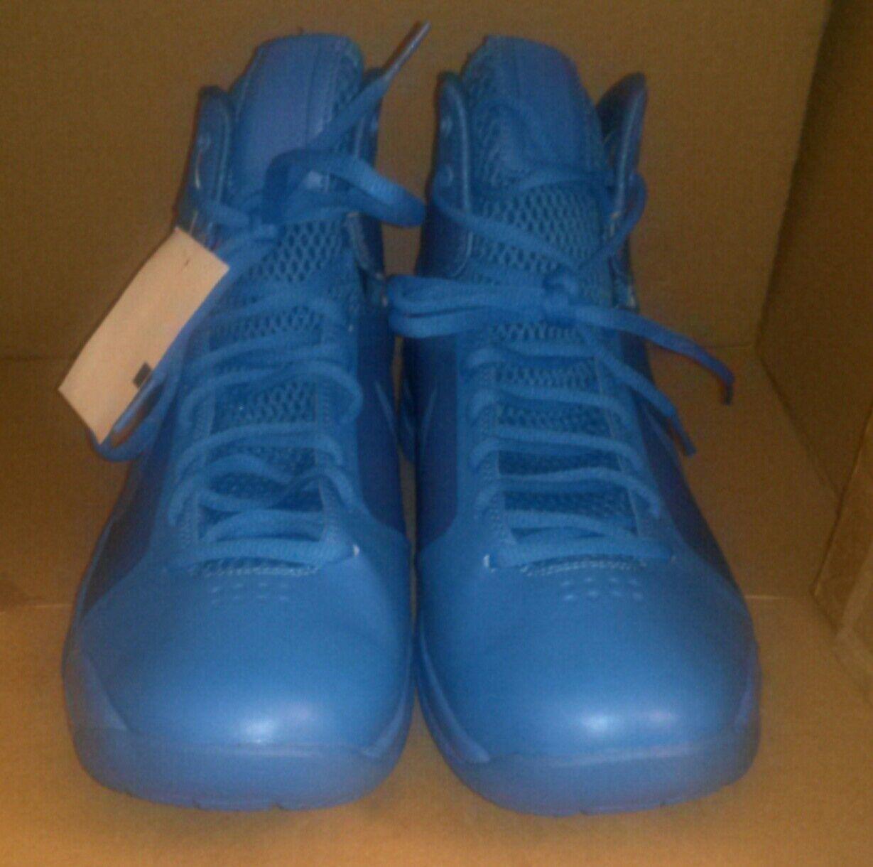 Nike HyperDunk NEW 08 Retro MEN Basketball lifestyle shoes 2016 BLUE SIZE 10
