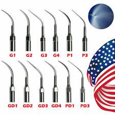 5pcs Dental Ultrasonic Piezo Scaler Tips Fit Woodpecker Ems Dte Satelec
