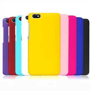 quality design 4ddad daaa0 Details about For Huawei Honor 4X Matte Rubberized Snap On hard case back  cover