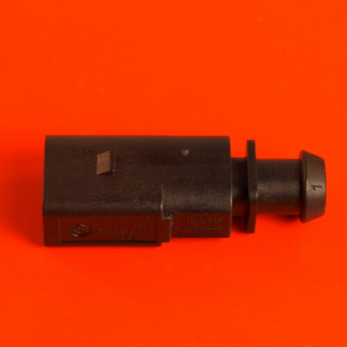 VW AUDI VAG 1J0 973 802-2 Pin Sealed Male JPT Connector With Boot 1J0973802