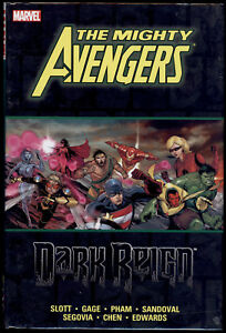 The-Mighty-Avengers-Dark-Reign-New-Hardcover-HC-Graphic-Novel-Marvel-Comics