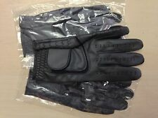 Set of 3 black JL Golf all weather synthetic gloves Size large Mens