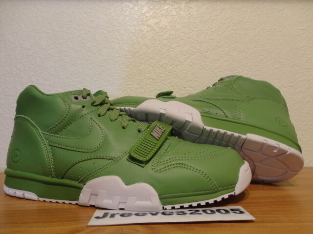 online store 70ce2 7f8c4 Nike Air Trainer 1 Mid Sp fragment Mens Size 8 Tennis Wimbledon Shoes 806942 -331 for sale online   eBay