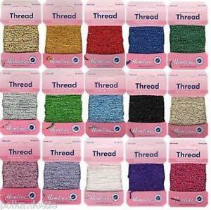 Hemline Glitter Thread Iris 10m