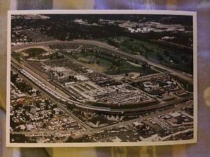 Lot of 5 Indianapolis Motor Speedway Indy 500 Postcards Birds Eye View