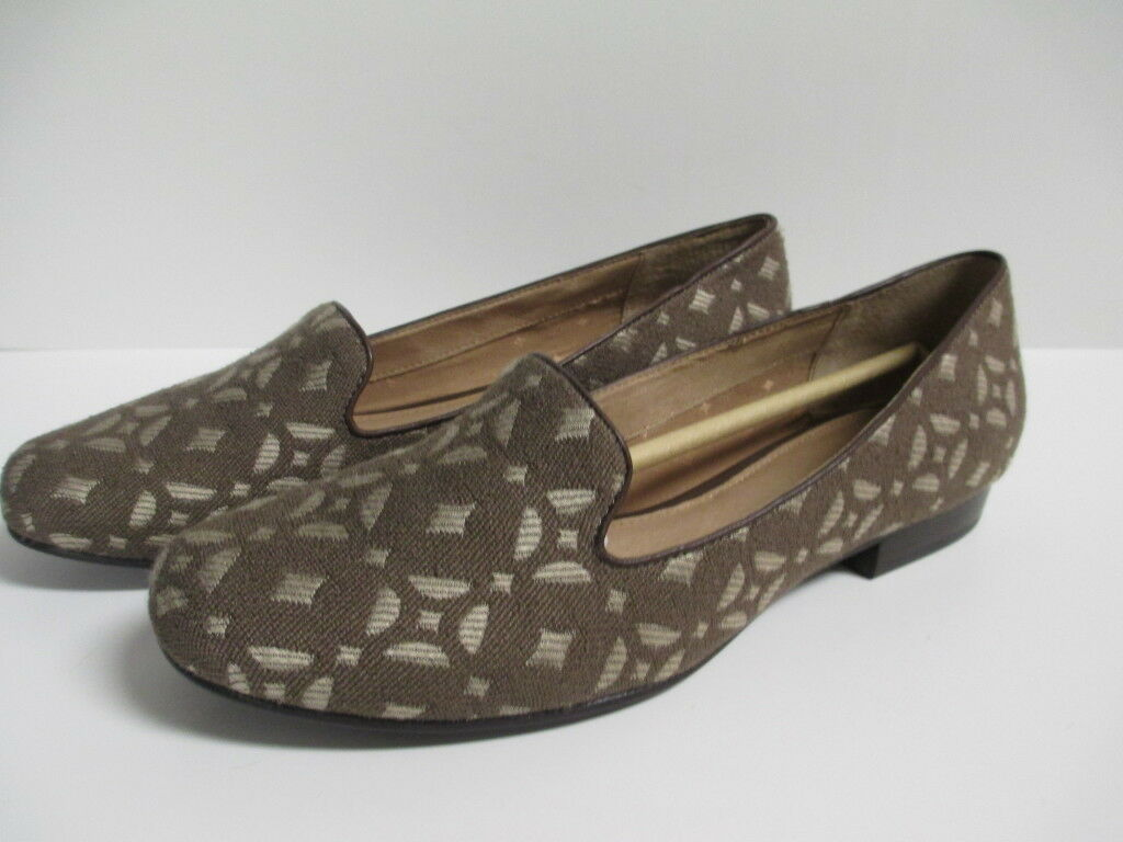 Fossil Calabash Loafer 9.5 New M Pecan New 9.5 with Box e95c81